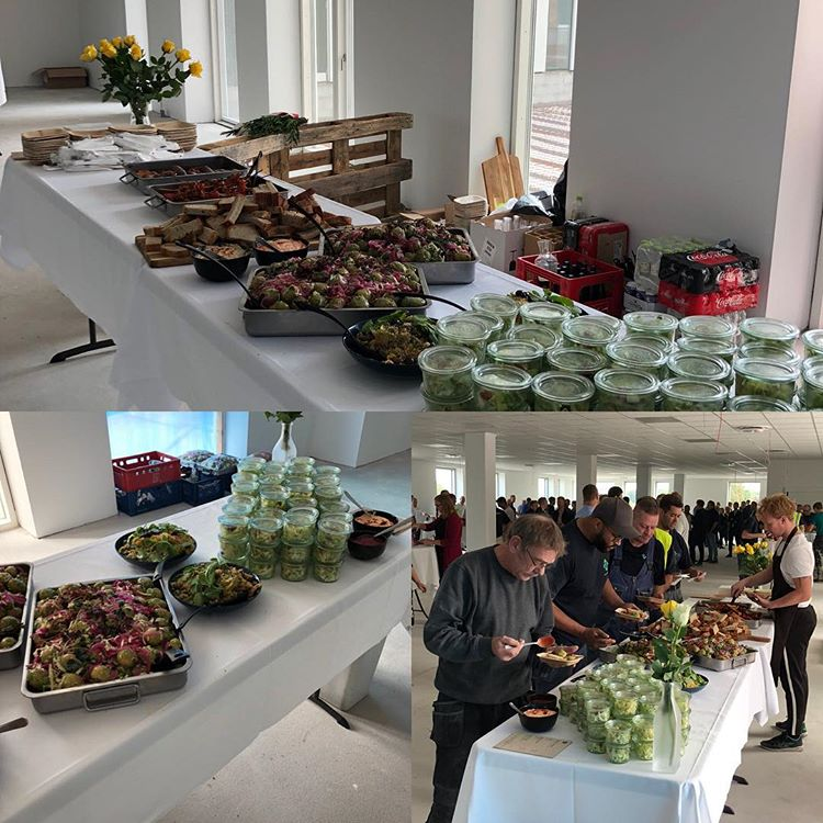"""Reception - """"stå-op-mad"""" Catering Nordly Risskov"""