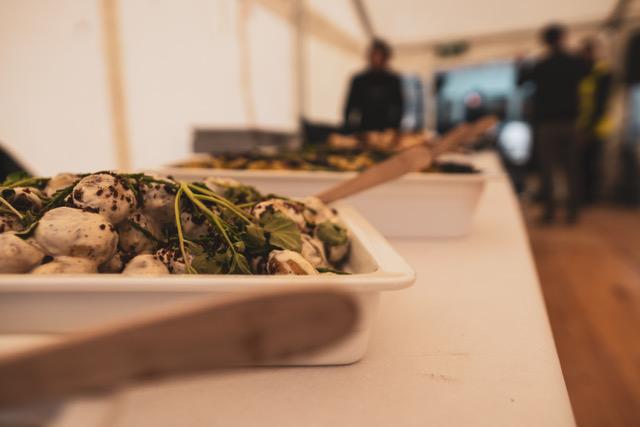 Luksus festbuffet 299,- pr. kuvert -forslag- Catering Nordly Risskov